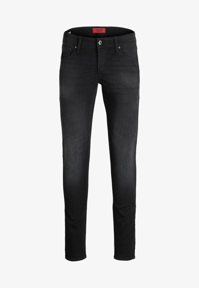 Slim fit jeans - black denim