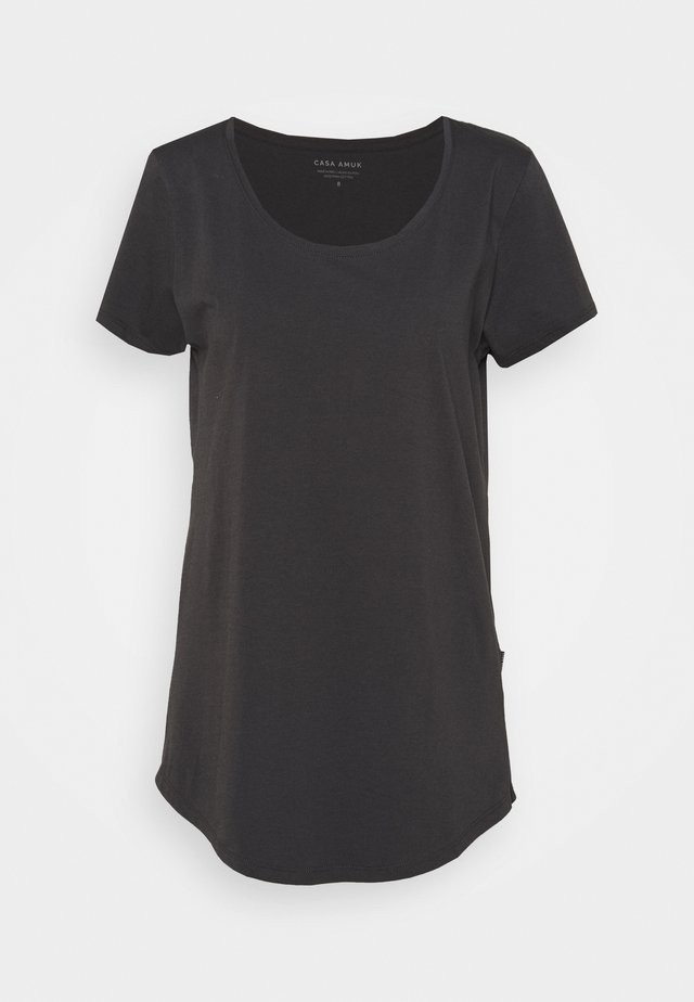 TALL TEE - T-shirt basique - asphalt