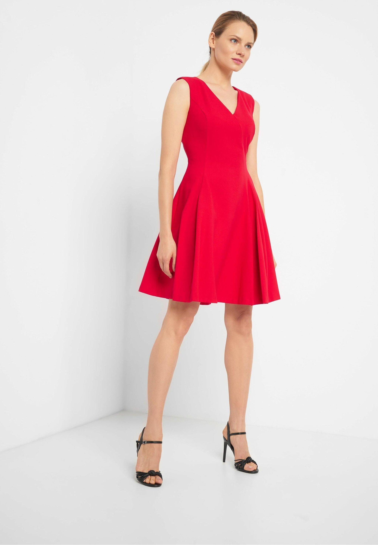 ORSAY Cocktailkleid/festliches Kleid   tangorot/rot   Zalando.de