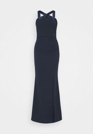 KYRA MAXI DRESS - Galajurk - navy blue