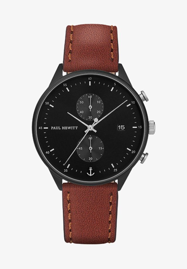 CHRONO LINE - Chronograph watch - brown