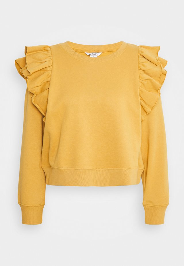 MISA - Sweatshirt - yellow