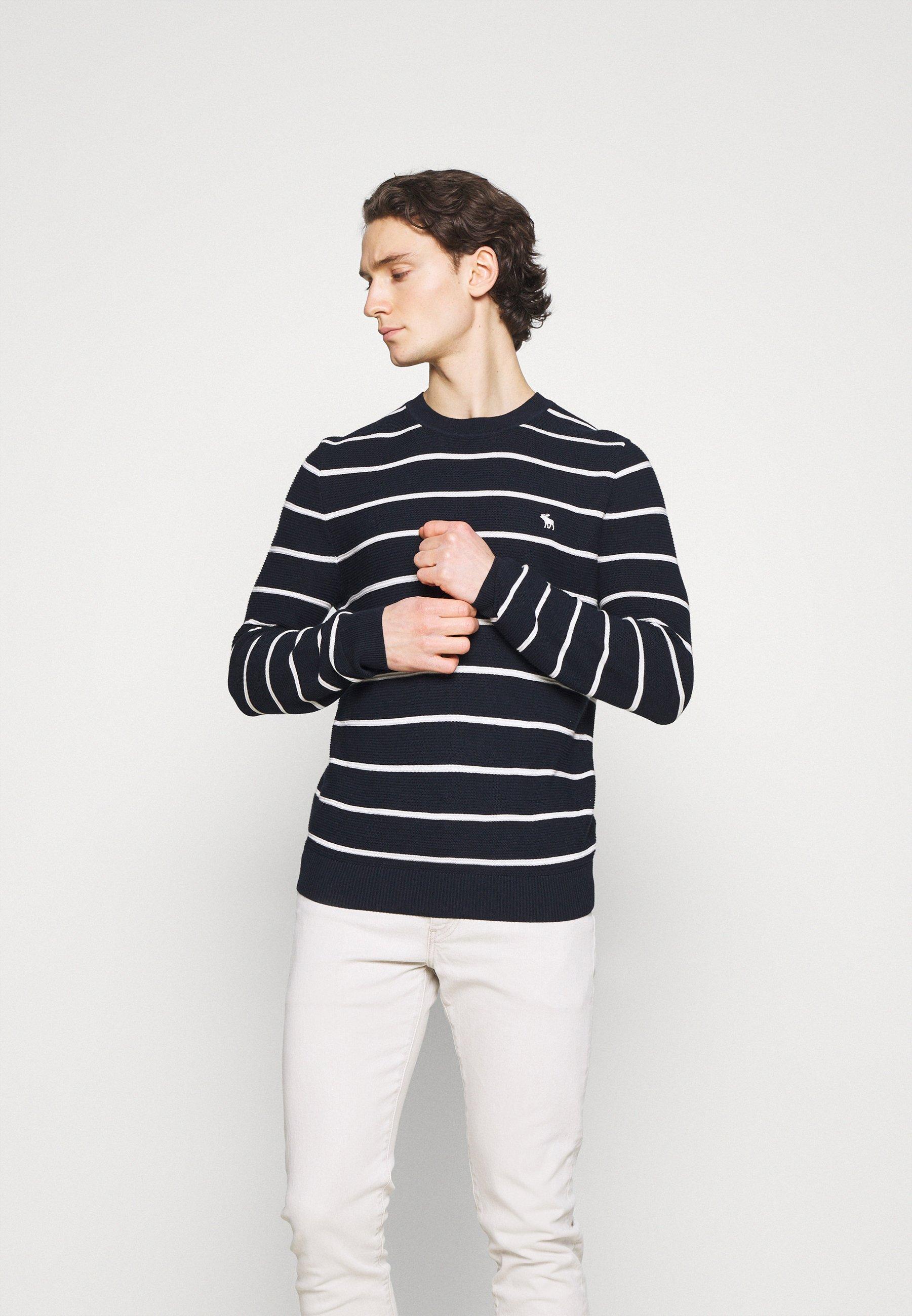 Homme ICON STRIPE CREWS - Pullover