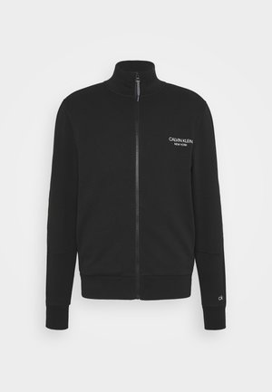 ELEVATED FULL ZIP - Sweatshirt - black