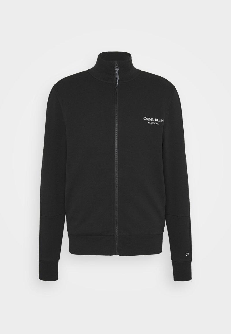 Calvin Klein - ELEVATED FULL ZIP - Sweatshirt - black