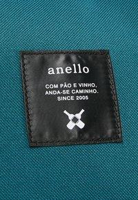 anello - STANDARD TOTE PATCH LOGO UNISEX - Batoh - blue/navy - 8