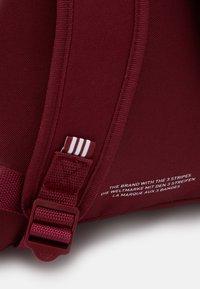 adidas Originals - CLASSIC - Ryggsekk - bordeaux/white - 3