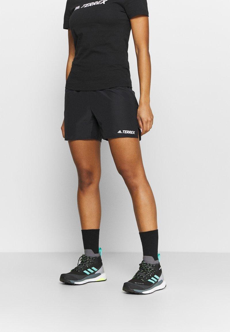 adidas Performance - TERREX PRIMEBLUE TRAIL - Sports shorts - black