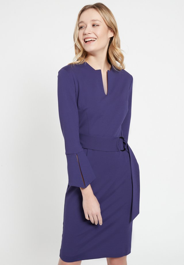 BEDEL - Shift dress - lila