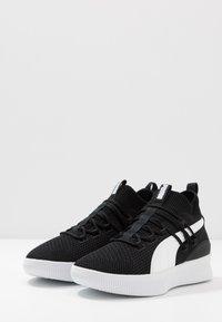 Puma - CLYDE COURT CORE - Basketball shoes - black - 2