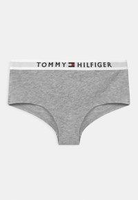 Tommy Hilfiger - 2 PACK - Briefs - medium grey/white - 2