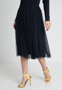 Lace & Beads Petite - MERLIN SKIRT - A-line skjørt - navy - 0