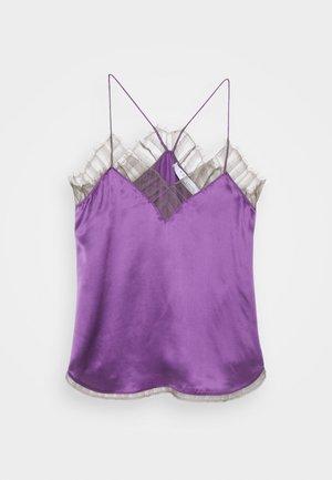 BERWYN - Top - purple/grey
