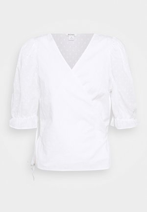 VIOLA BLOUSE - Bluser - white light