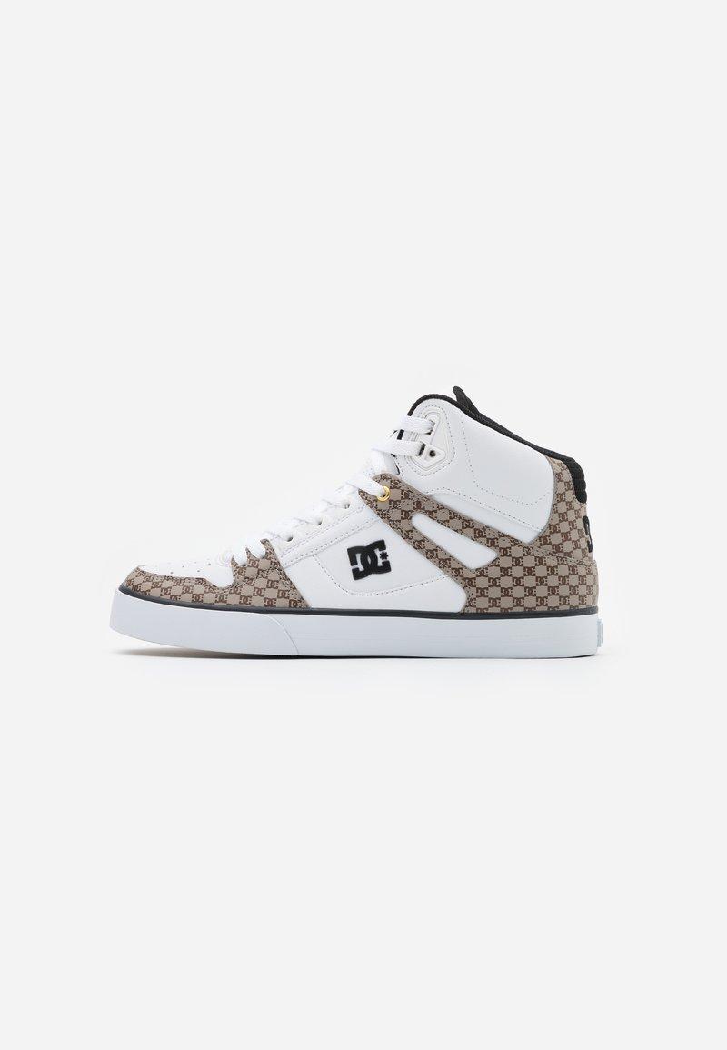 DC Shoes - PURE - Skateboardové boty - black/white