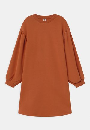 Day dress - orange dark