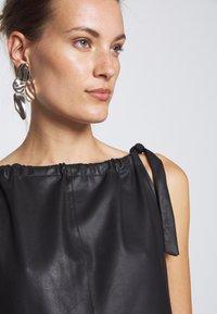 DEPECHE - LONG DRESS - Denní šaty - black - 5