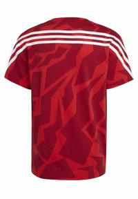 adidas Performance - FUTURE ICONS - Print T-shirt - red/white - 1