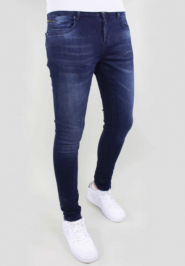 Jeans slim fit - d.blue used