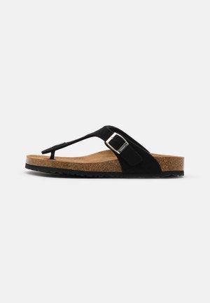 SLIDES - Domácí obuv - black