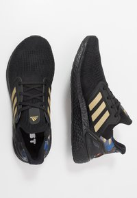 adidas Performance - ULTRABOOST 20 CNY - Zapatillas de running neutras - core black/gold metallic/signal coral - 1