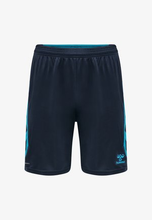 ACTION POLY  - Sports shorts - black iris/atomic blue