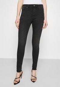 Tommy Jeans - SYLVIA ANKLE - Jeans Skinny Fit - black denim - 0