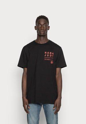 MARKER - T-shirt print - black