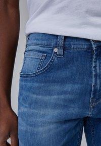 Baldessarini - Slim fit jeans - blue used buffies - 4