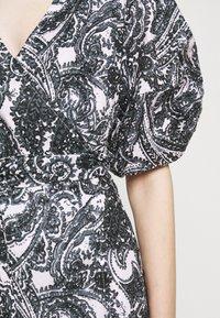 Faithfull the brand - GODIVA WRAP DRESS - Denní šaty - black - 7