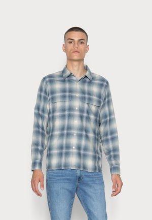 DRAPEY - Camicia - blue grey plaid
