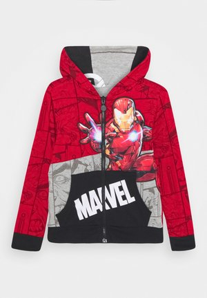 MARVEL IRON MAN - Zip-up hoodie - red
