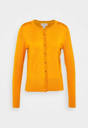 ANNA - Cardigan - dark dusty yellow