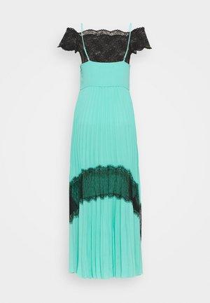 2 in 1 PLEATED DRESS - Maxi dress - aqua marine