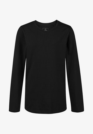 REGULAR FIT - Long sleeved top - black