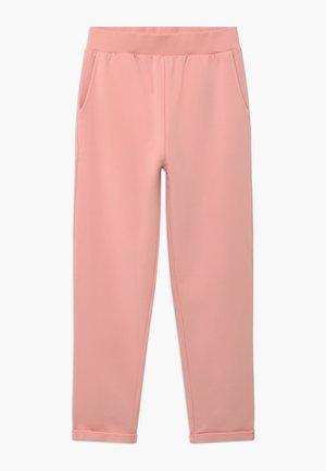 Teplákové kalhoty - powder pink
