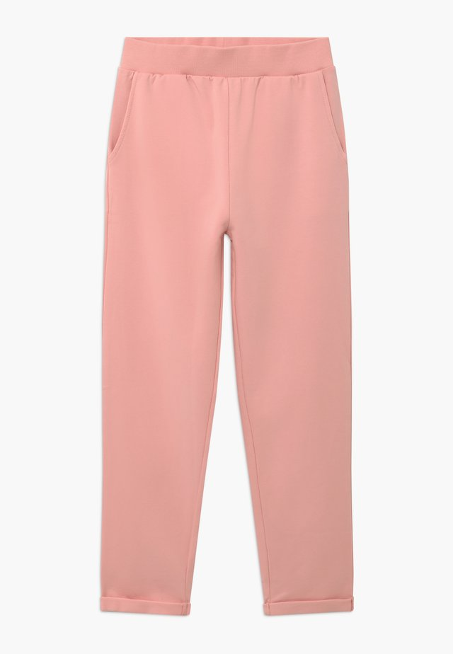 Tracksuit bottoms - powder pink