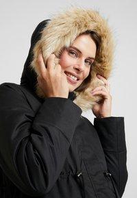 MAMALICIOUS - MLARUNA ZIPPY SIDE PADDED JACKET - Light jacket - black - 4