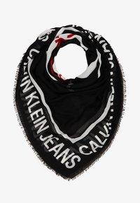 Calvin Klein Jeans - I LOVE SCARF - Foulard - black - 1