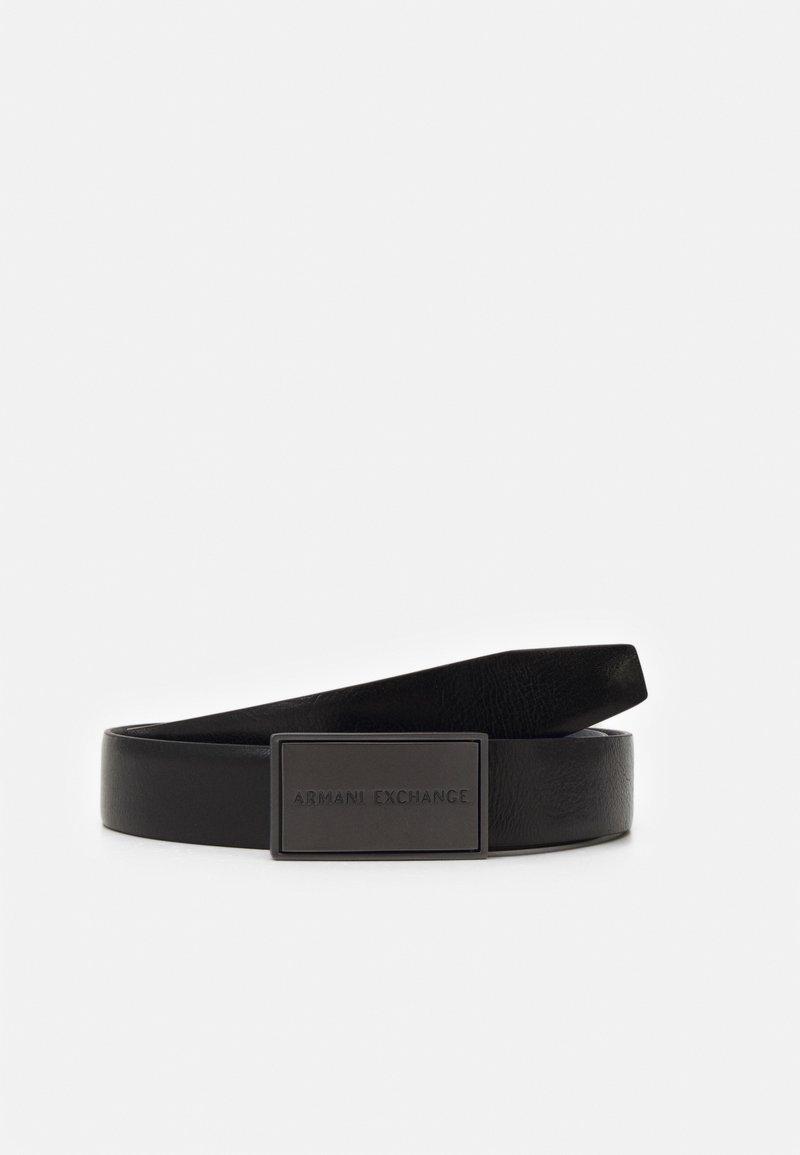 Armani Exchange - BELT - Belt - black/black