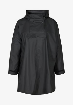 RAIN PONCHO - Light jacket - black