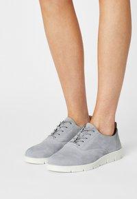 ECCO - BELLA - Casual lace-ups - silver grey - 4