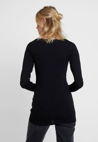 Samsøe Samsøe - SOLID - Long sleeved top - black - 2