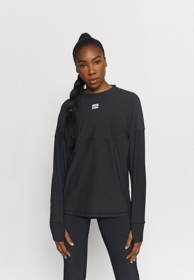 VENTURE  - Long sleeved top - black