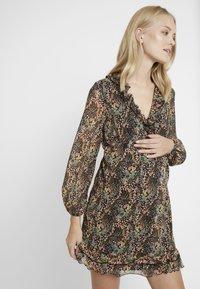 Topshop Maternity - RUFFLE MINI - Day dress - multi - 0