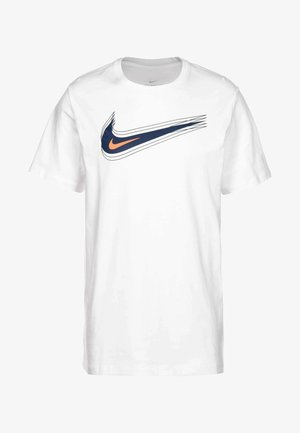 Camiseta estampada - white / blue void