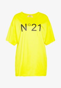 N°21 - Print T-shirt - mimosa - 5