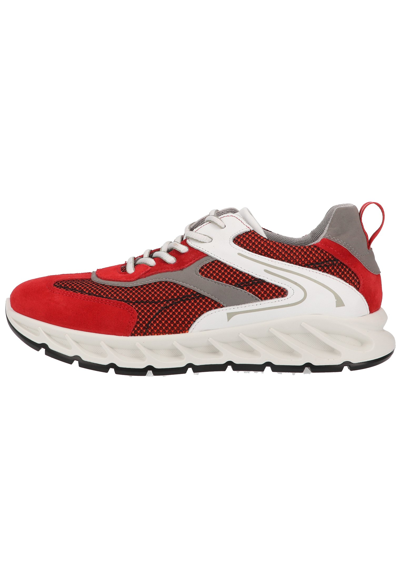 Homme Baskets basses - red