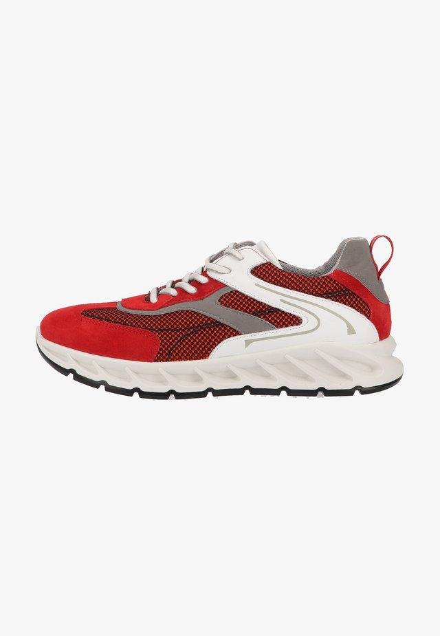 Sneakers laag - red