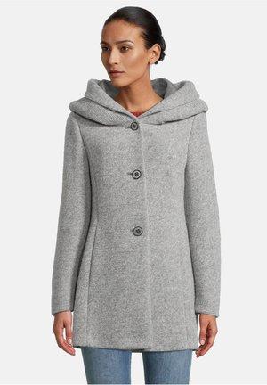 Short coat - middle grey melange